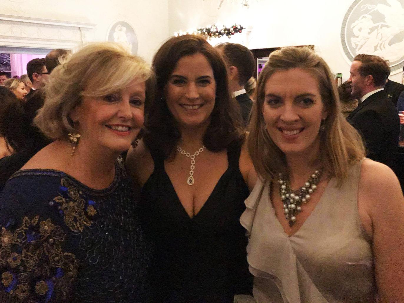 Barbara McGrath, MD, Eileen Moloney, Head of Marketing & Estelle Davis, Board Director, of Brightwater Recruitment at the NRF Awards