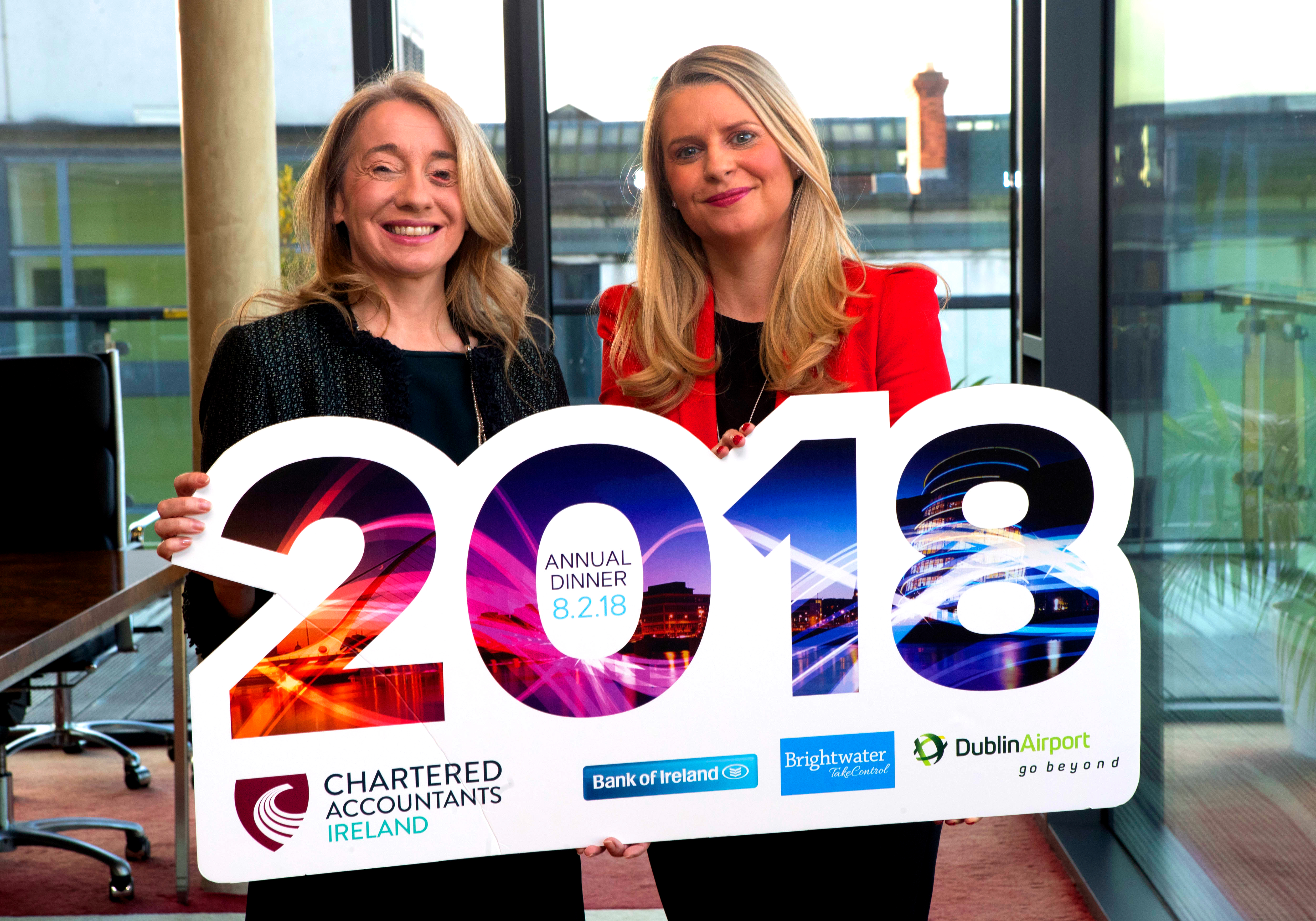 Chartered Accountants Ireland Annual Dinner Launch 2018