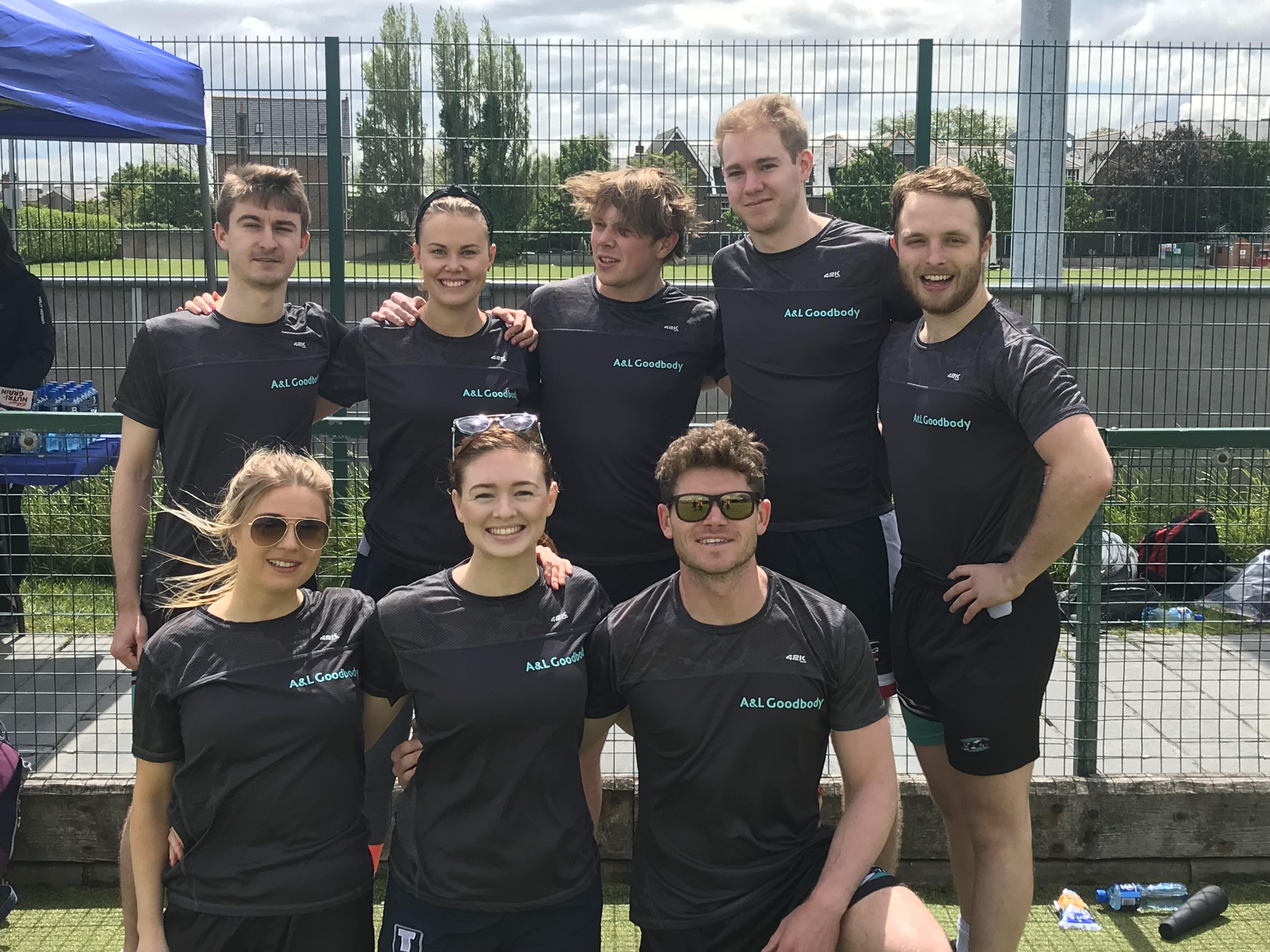 Tag Rugby Team from AL Goodbody