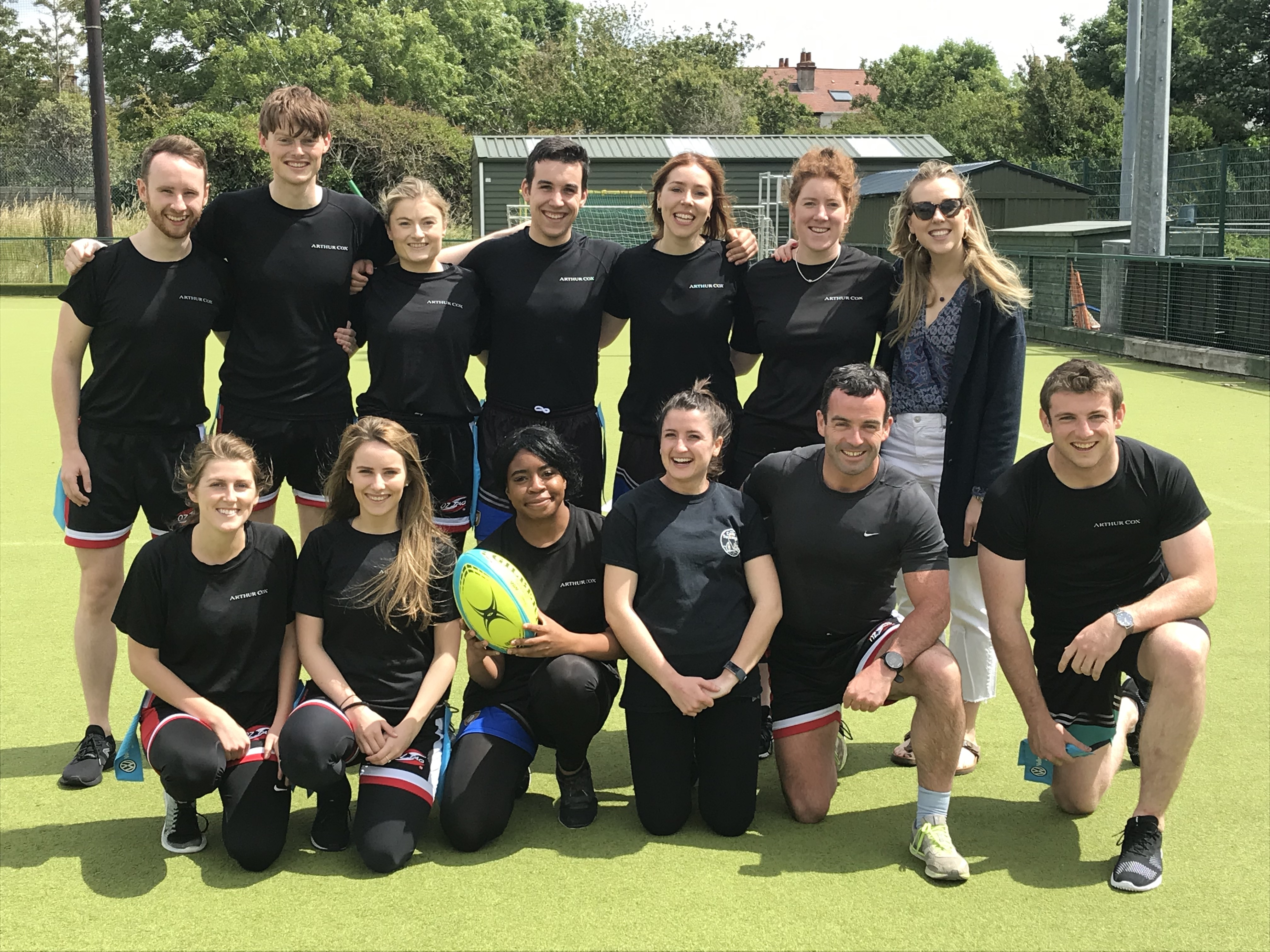 Tag Rugby team from Arthur Cox Law at the SYS 2019 tournament