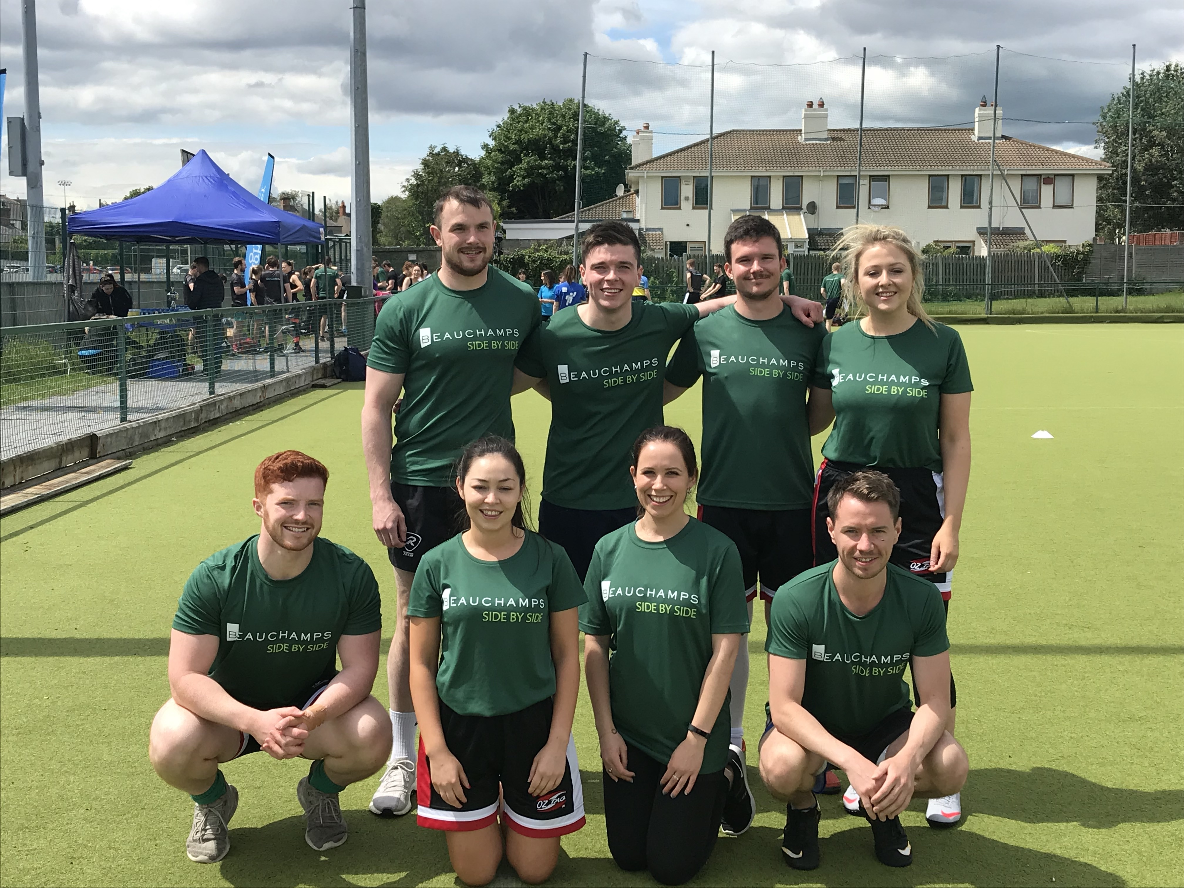 Beauchamps Law Team at SYS Tag Rugby Tournament 2019