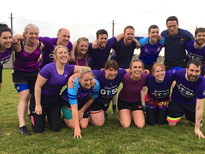 Grant Thornton at the Chartered Accountants Cork Society Tag Rugby Tournament sponsored by Brightwater in Cork Constitution FC