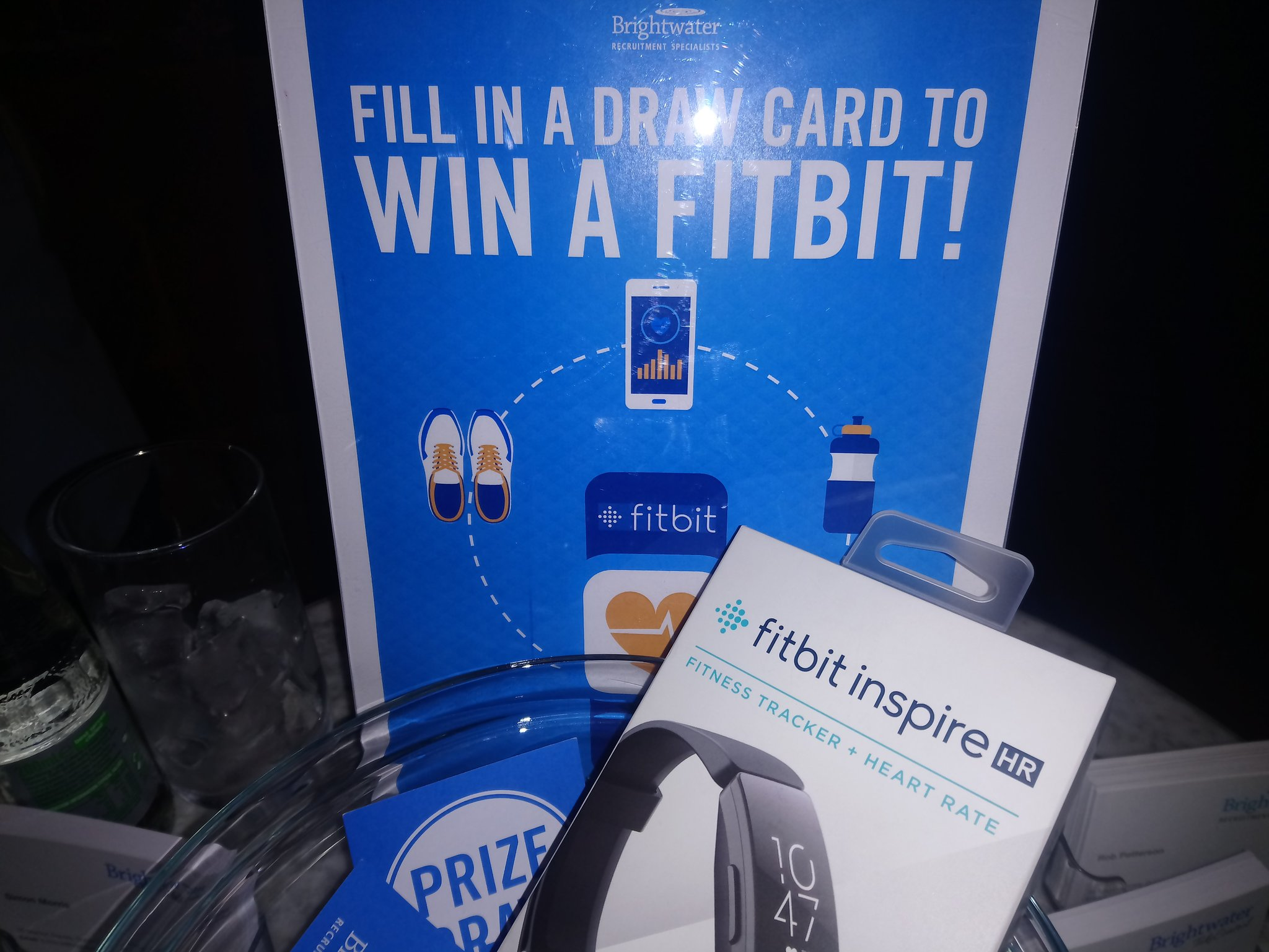 Win a FitBit Inspire in the Brightwater Prize Draw