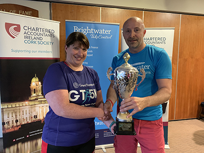 Grant Thornton Winners of the the Chartered Accountants Cork Society Tag Rugby Tournament sponsored by Brightwater in Cork Constitution FC