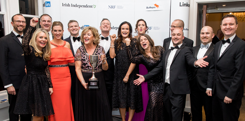 Brightwater are the proud winners of the NRF Best Agency (Large) 2019