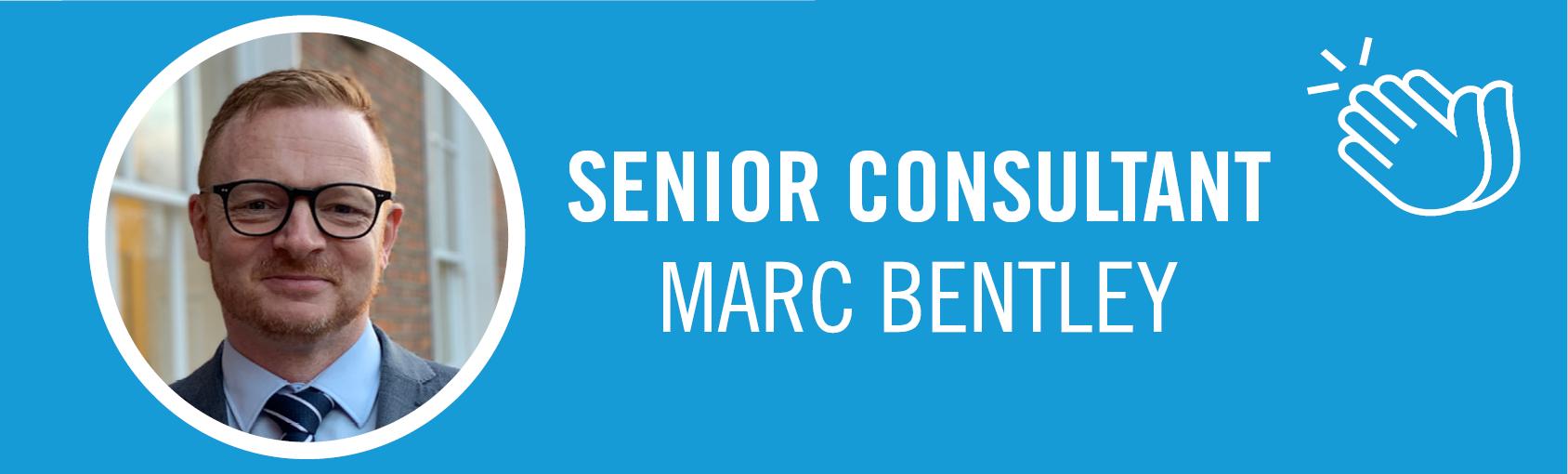 Senior Consultant  - Marc Bentley