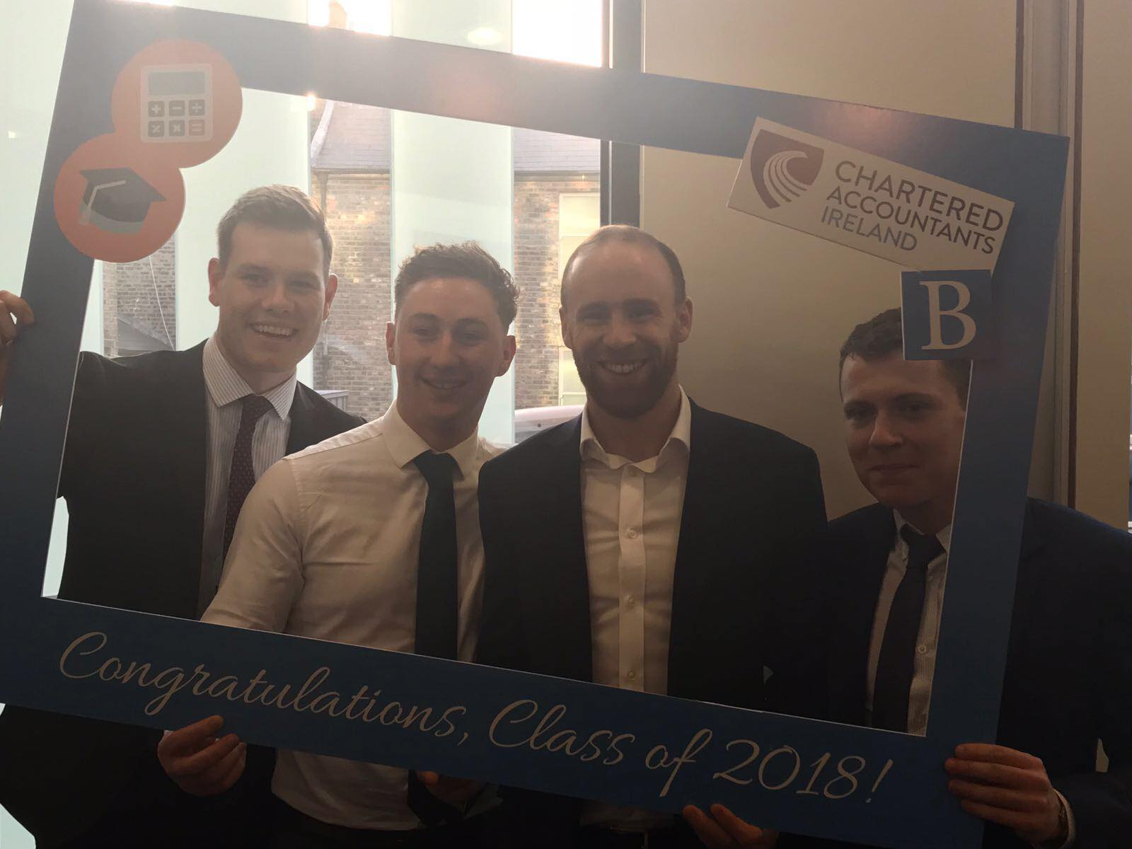 Conor Quaine, Niall Hession, Aidan Cash and Peter Glancy