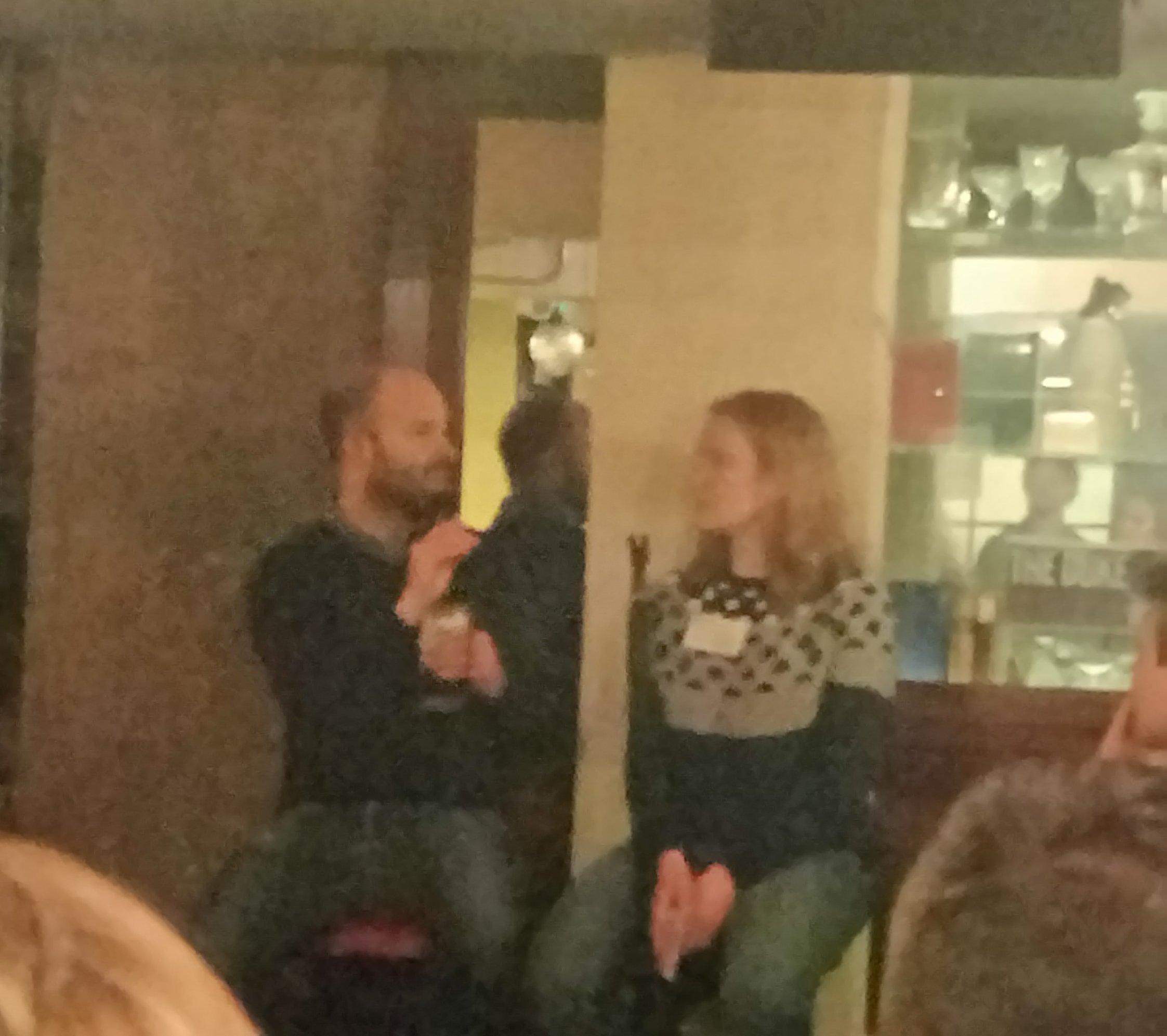 David Anderson and Kate Van Der Merwe of Google