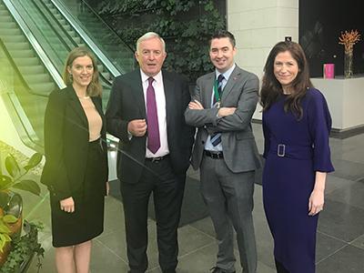Estelle, Caitriona Allis, Stephen O'Flaherty and Bob Etchingham