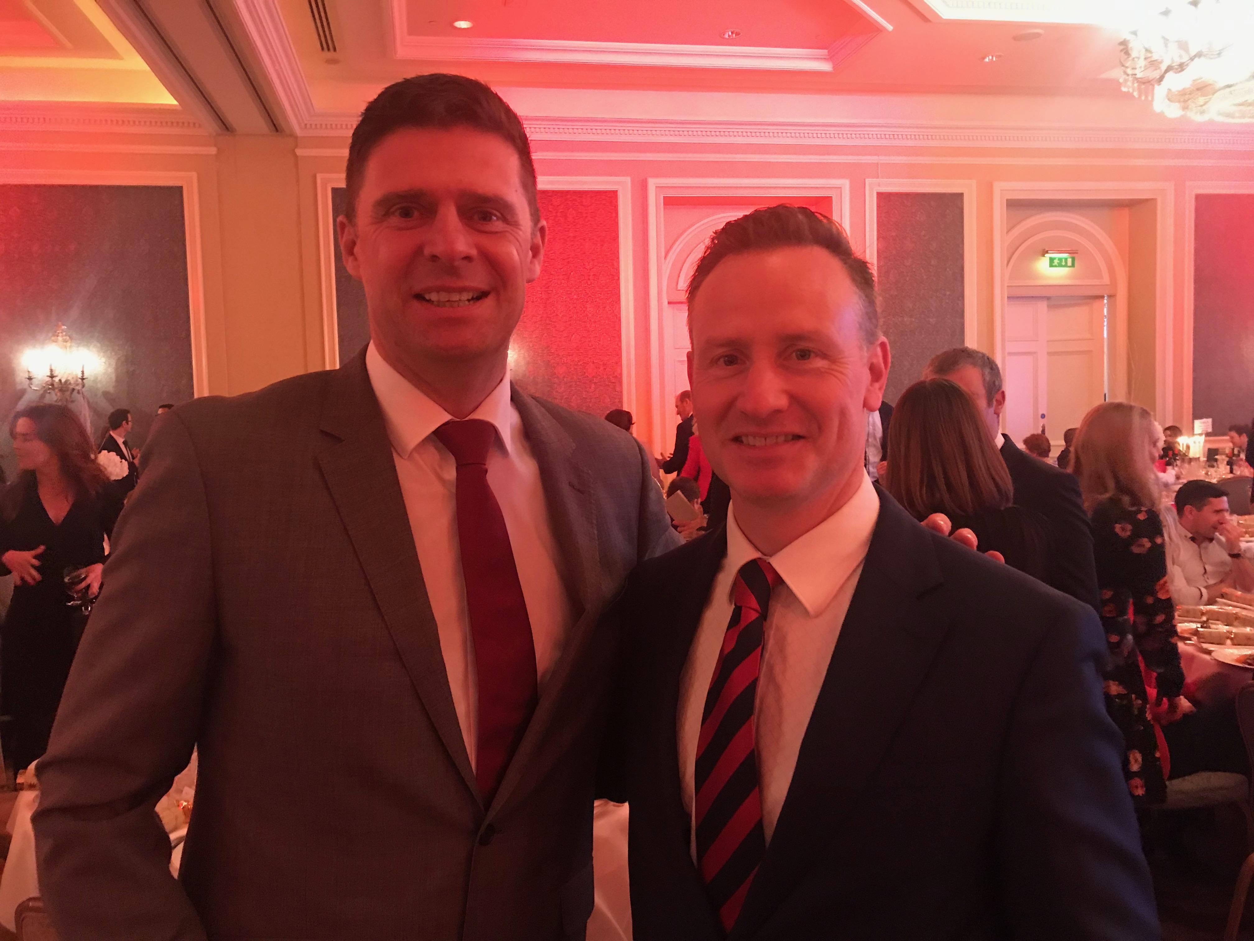 John O Donnell & Niall Quinn