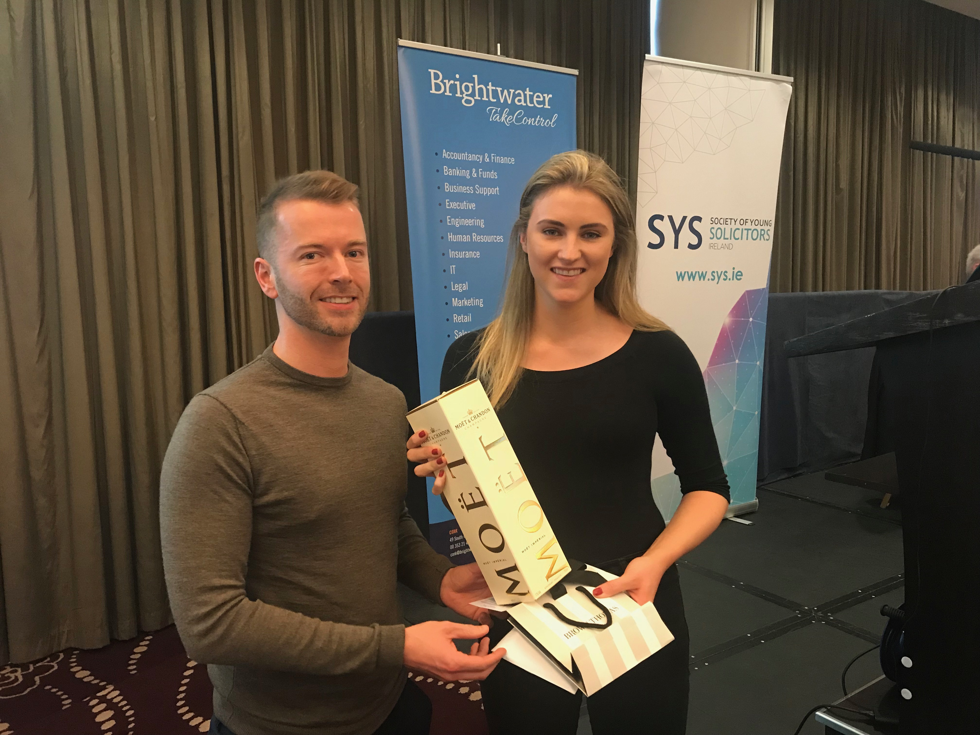 SYS Brightwater Prize winner