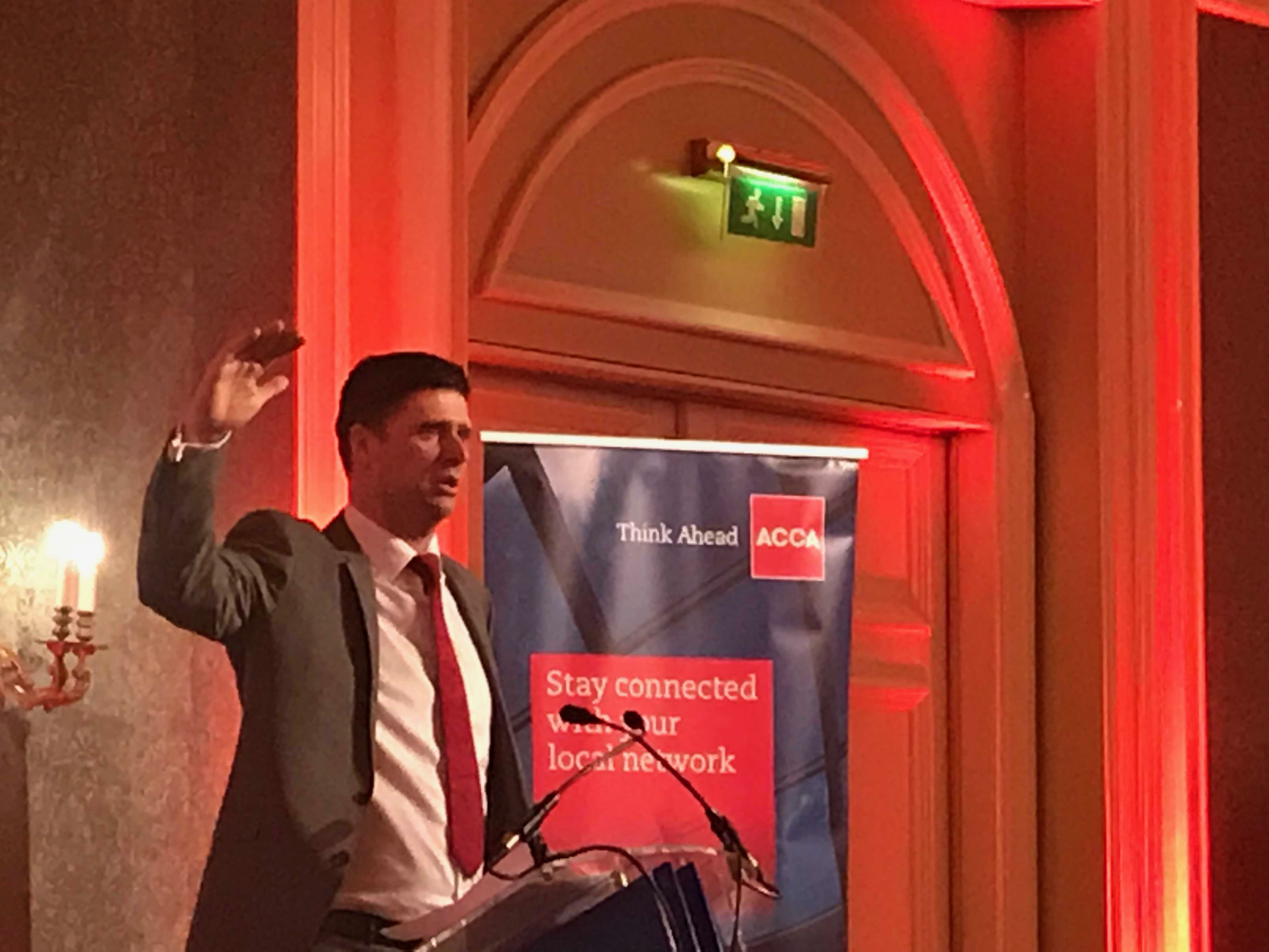 Niall Quinn speech