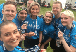 Brightwater Recruitment at the PWC Staff Relay