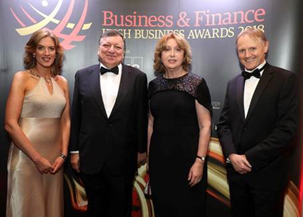 Estelle Davis at the Business & Finance Awards