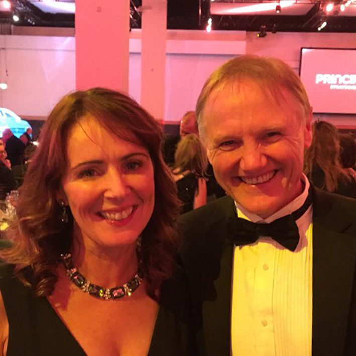 Jean & Joe at the Business & Finance Awards