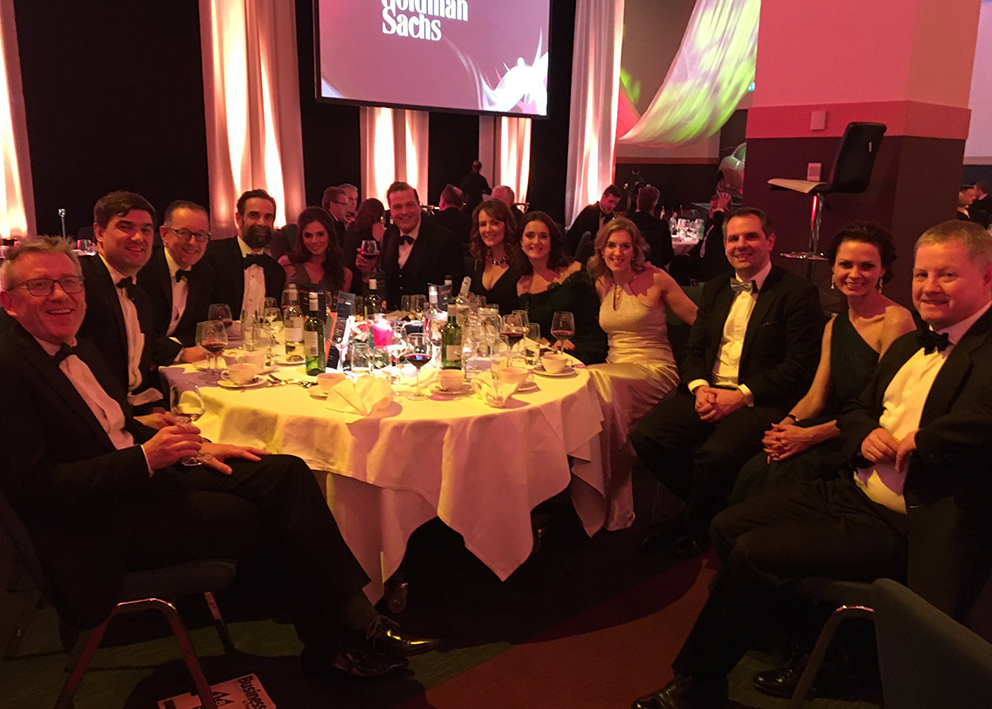 Brightwater Group at the Business & Finance Awards